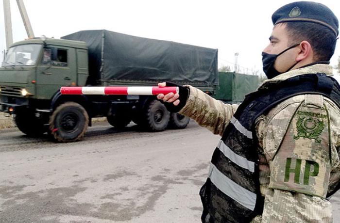 Sülhməramlı kontingent üçün növbəti təminat vasitələri gətirildi - VİDEO