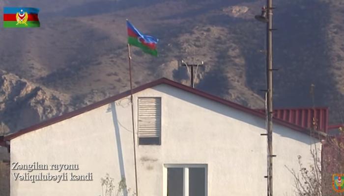 Zəngilanın Vəliqulubəyli kəndi -