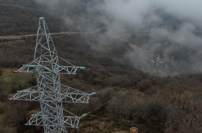 """""""Azərenerji"""": Bu ilin sonunadək Qarabağın 90%-i elektrik enerjisi ilə təmin olunacaq"""