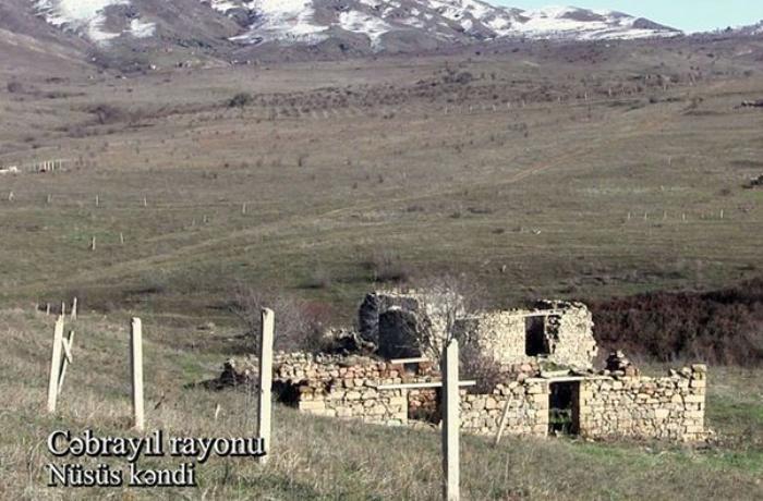 Cəbrayıl rayonunun Nüsüs kəndindən VİDEO