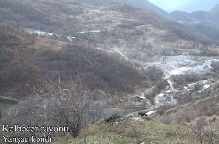 Kəlbəcərin Yanşaq kəndinin GÖRÜNTÜLƏRİ