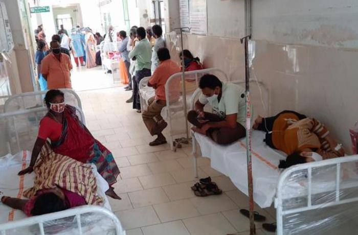 Hindistanda COVID-19 xəstəxanası yandı – ölən və yaralananlar var