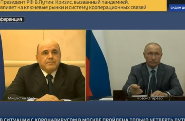 Путин рассказал о здоровье Мишустина