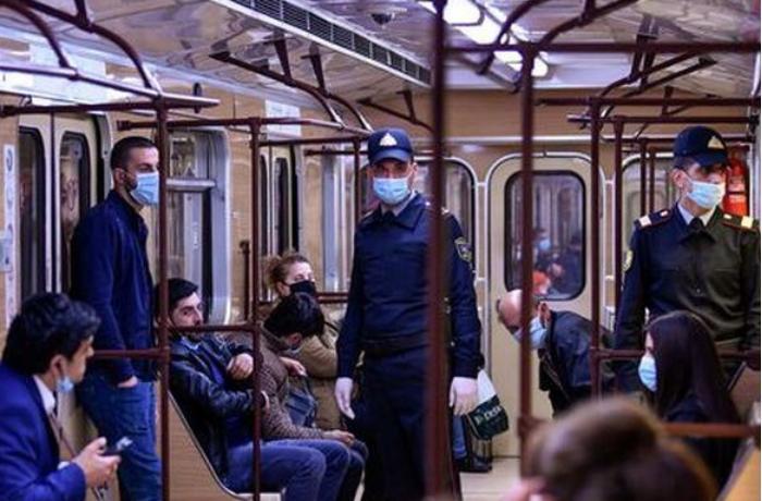 Metroda aktiv koronavirus xəstəsi saxlanılıb - FOTO