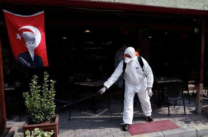 Türkiyədə koronavirusa yoluxanların sayı artıb