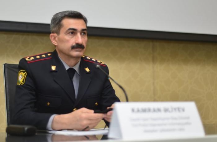 Baş Dövlət Yol Polisi İdarəsində Kamran Əliyevin yerinə TƏYİNAT