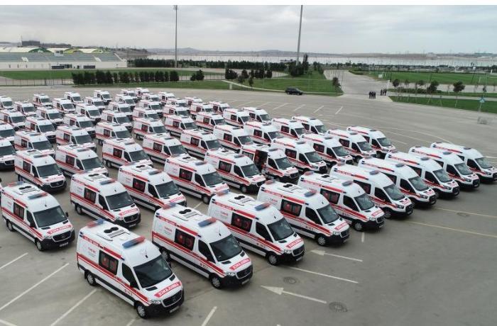 Dövlət Agentliyi 65 ədəd təcili tibbi yardım avtomobili alır