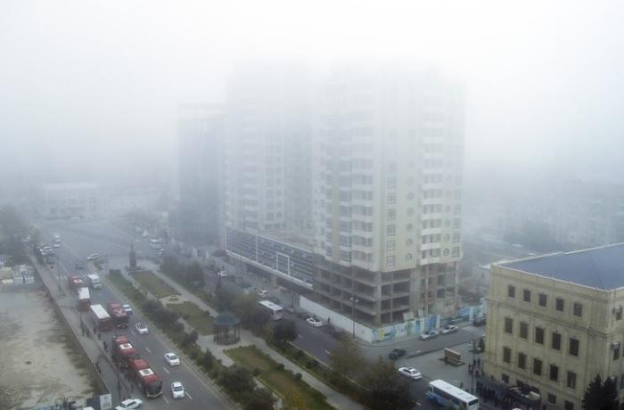 Bakıda müşahidə olunan tozlu havanın səbəbi açıqlandı