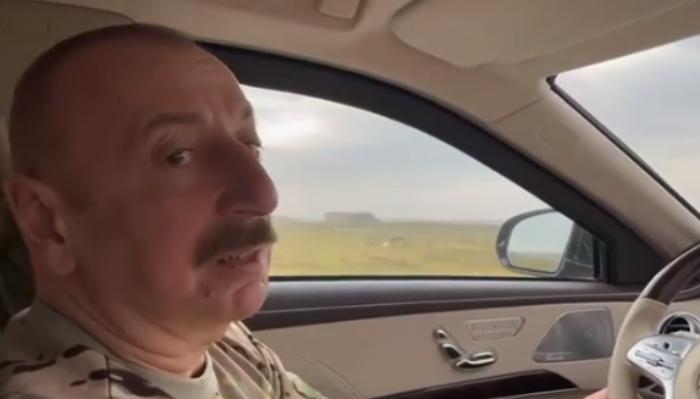 Президент Ильхам Алиев: Дорога в Шушу - это путь к победе - ВИДЕО
