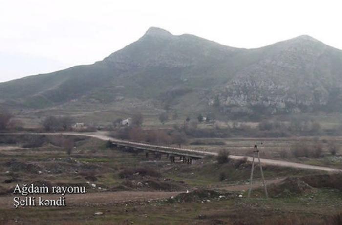 Ağdamın Şelli kəndindən görüntülər - VİDEO