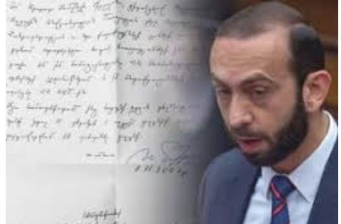 Ermənistan parlamentinin sədri agent olub – Keçmiş səfir SƏNƏD paylaşdı
