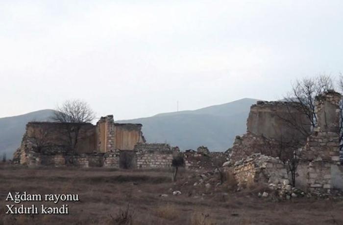 Ağdamın Xıdırlı kəndi - VİDEO