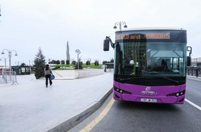 Bu istiqamətdə avtobusların hərəkəti müvəqqəti dəyişdiriləcək