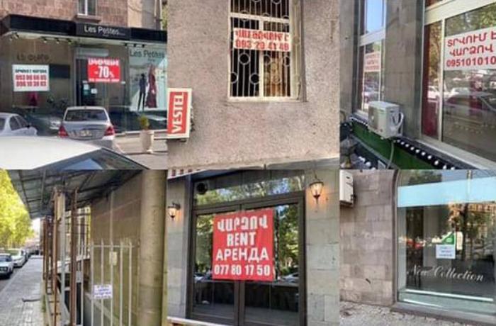 Ermənistanda minlərlə şirkət fəaliyyətini dayandırıb – RƏSMİ AÇIQLAMA