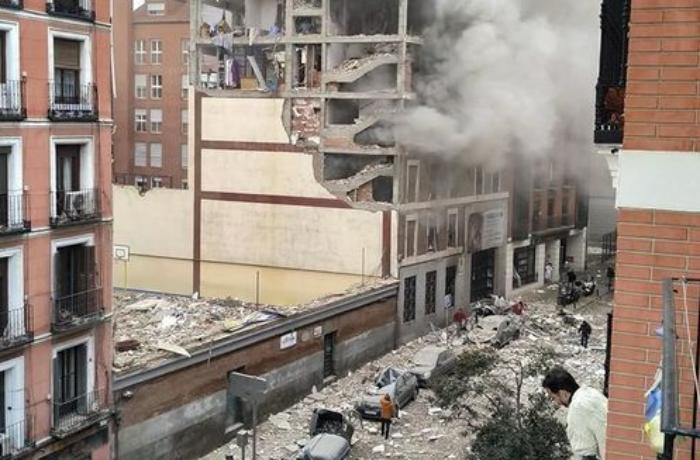 İspaniyada güclü partlayışda ölənlərin sayı 3-ə çatdı, 11 yaralı - VİDEO - YENİLƏNİB