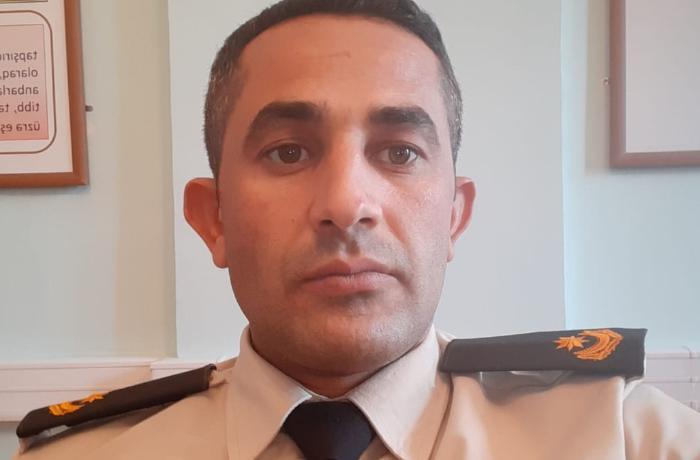 3-cü taborun atası şəhid mayor - Asif Azayev
