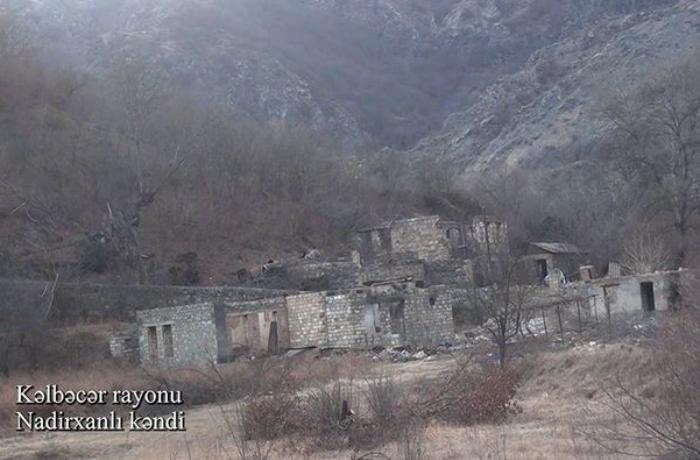 Kəlbəcər rayonunun Nadirxanlı kəndi - VİDEO
