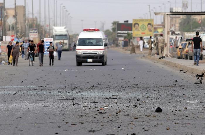Bağdadın mərkəzində partlayış - 28 nəfər öldü, 73 nəfər yaralandı - YENİLƏNİB