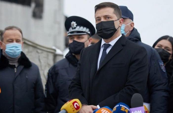 Vladimir Zelenski Ukraynada milli matəm elan etdi