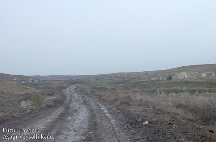 Müdafiə Nazirliyi işğaldan azad edilən daha bir kəndin görüntülərini yaydı - VİDEO