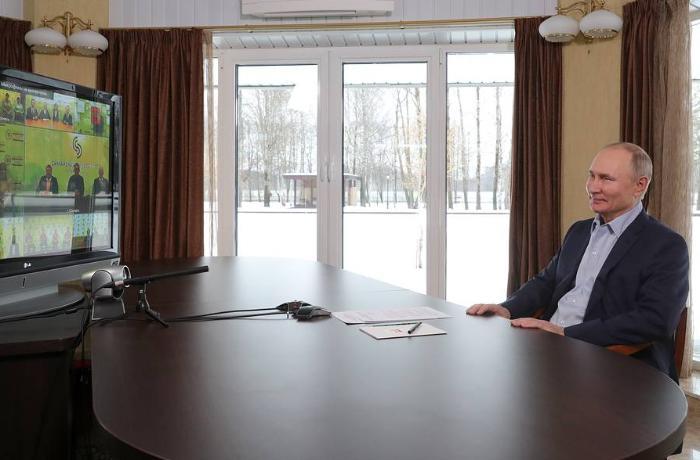 Putindən ona aid olduğu deyilən sarayla bağlı ilk AÇIQLAMA