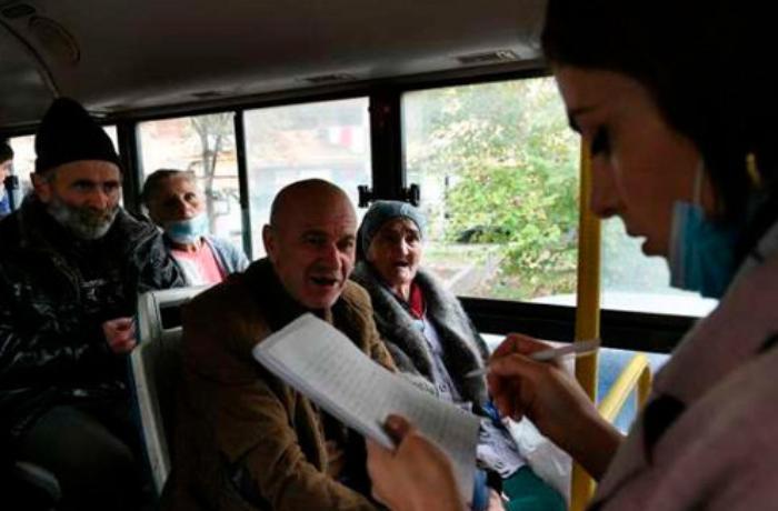 Daha 131 erməni Qarabağa geri qaytarıldı