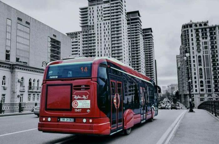 Bu avtobusların hərəkət sxemi dəyişdi - XƏRİTƏ