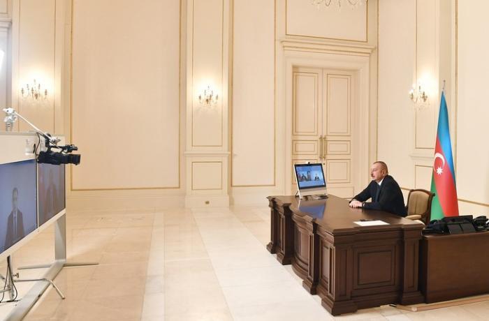 Prezident Rəşad Nəbiyevi videoformatda qəbul edib - VİDEO