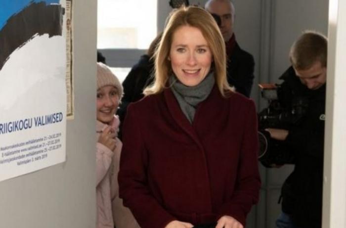 Bu kez oldu: Kallas, Estonya'nın ilk kadın başbakanı