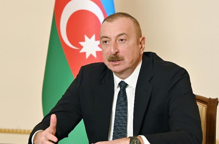 """Prezident: """"Ya Laçın, ya Kəlbəcər rayonlarının ərazisində ikinci beynəlxalq hava limanı inşa ediləcək"""""""