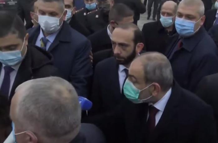 """Paşinyanla erməni jurnalist mübahisə etdi – """"Bu sualı mənə verən kim idi?"""""""