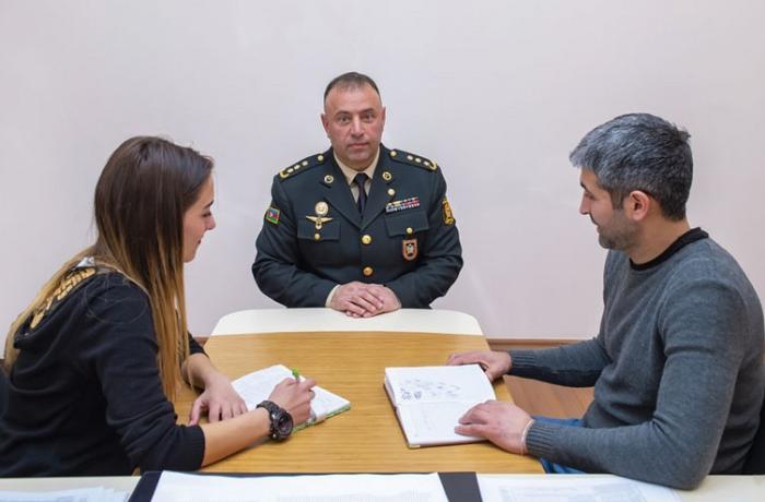 Polkovnik Tehran Mənsimov fəaliyyətini idarə rəisi vəzifəsində davam etdirir
