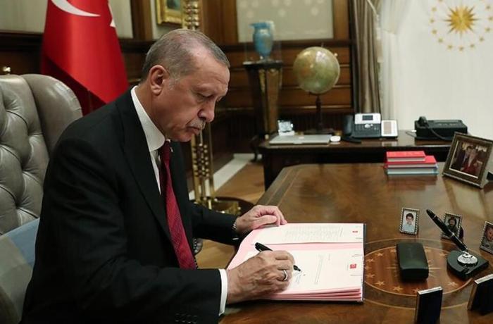 Ərdoğan Azərbaycanla ticarət sazişini imzaladı