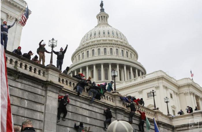 World stunned by Trump supporters storming U.S. Capitol, attempts to overturn election