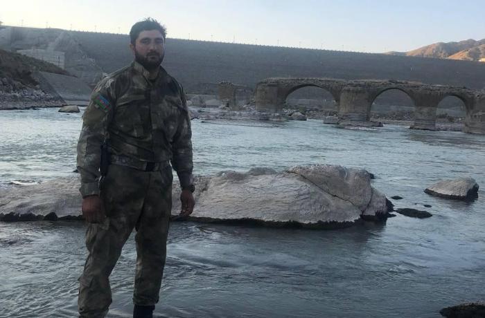 Zəngilan və Xudafərinin azad edilməsini prezidentə məruzə edən polkovnik - VİDEO