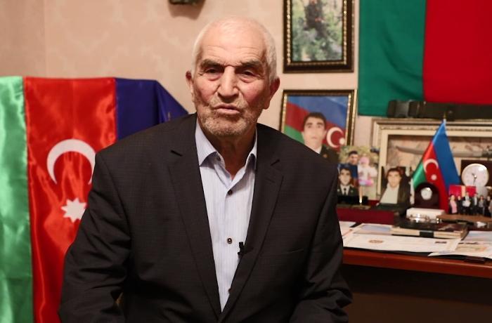 """""""4 yaşımda müharibədə atamı, indi isə oğlumu itirdim, Vətən sağolsun!"""" - VİDEO"""