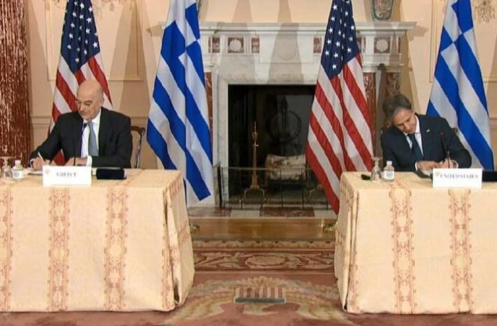Yunanıstan və ABŞ arasında saziş imzalandı