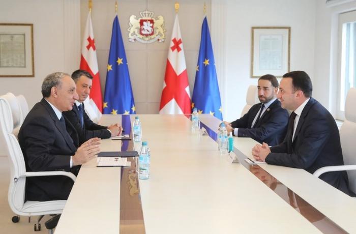 Kamran Əliyev Gürcüstanın Baş naziri ilə görüşdü - YENİLƏNİB