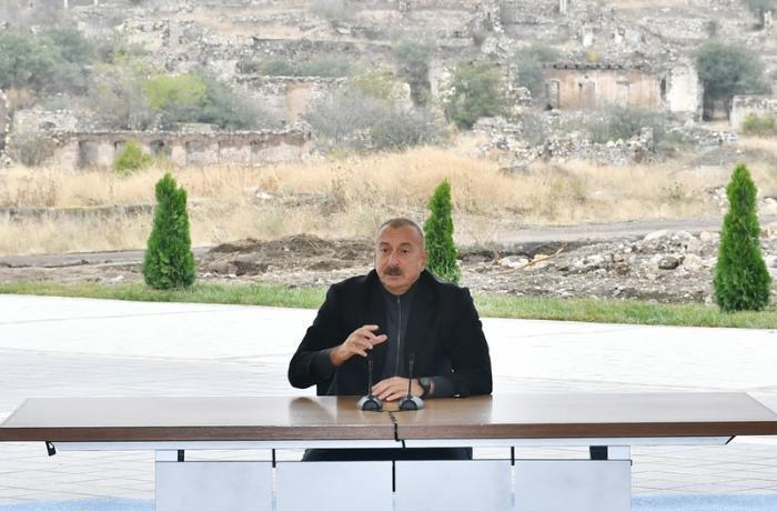 Ölkə başçısı Füzuli əməliyyatının detalları barədə məlumat verdi