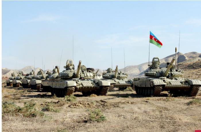 Azərbaycan Ordusunu Laçında təlimlərə başladı