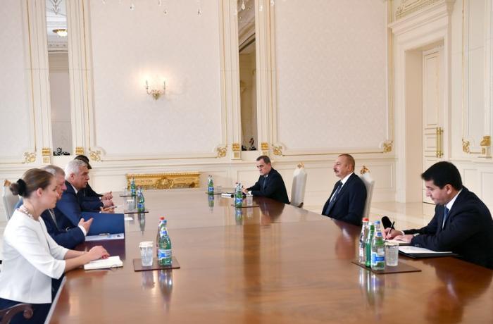 Prezident Slovakiyanın xarici işlər və Avropa nazirini qəbul edib - FOTO