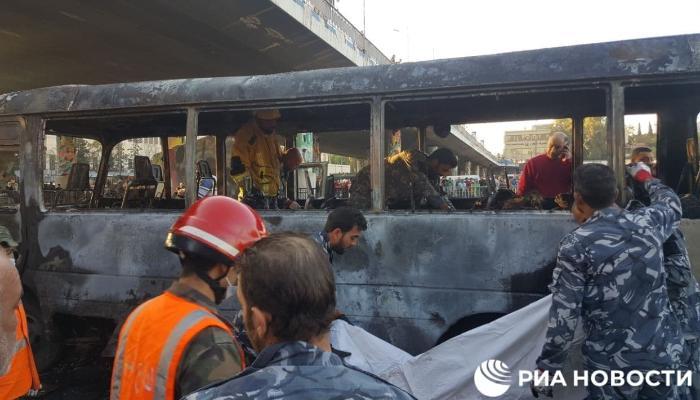 Dəməşqdə terror: 14 nəfər həlak oldu – FOTOLAR