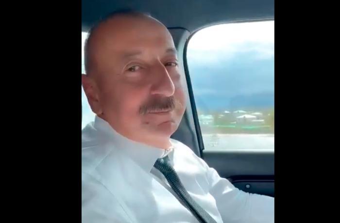 Mehriban Əliyeva İlham Əliyevlə maraqlı görüntüsünü paylaşdı - VİDEO