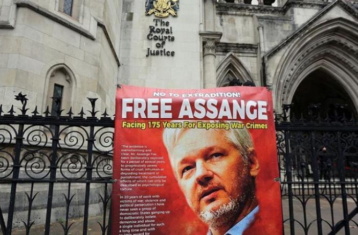 Assange'ın ABD'ye iadesi davasında temyiz duruşması başladı