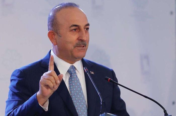 """Çavuşoğlu: """"Heç kim Türkiyəyə barmaq silkələyə bilməz"""""""