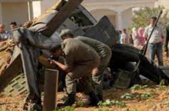 Tunus'ta helikopter düştü! 3 asker öldü