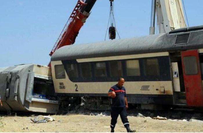 Tunus'ta tren kazası: 33 yaralı
