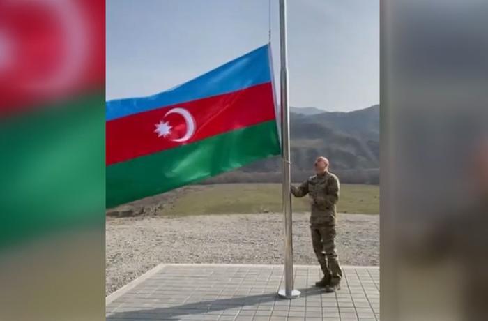 Azerbaycan Cumhurbaşkanı Aliyev, Ermenistan işgalinden kurtarılan bölgeleri ziyaret etti