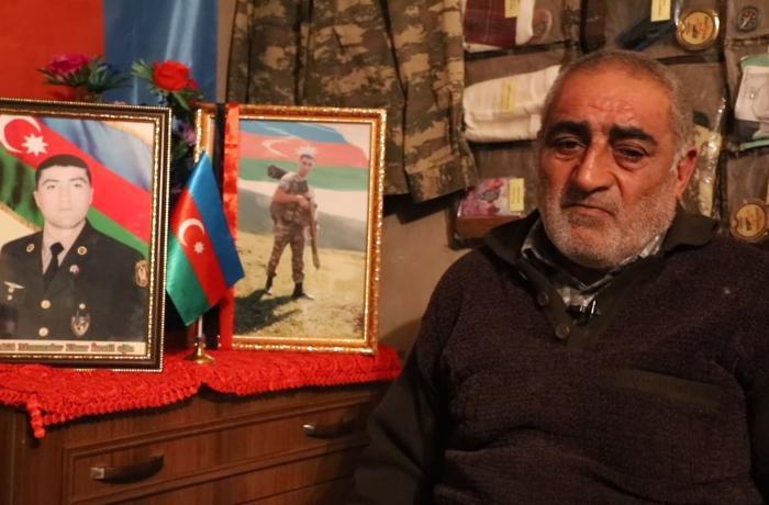 """""""Oğlumun nəşini 52 gün sonra götürə bildilər, eləbil bu dəqiqə şəhid olmuşdu"""" - VİDEO"""