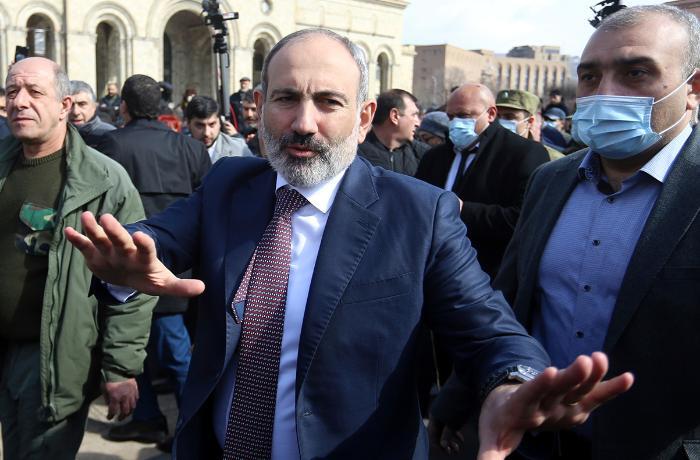 Paşinyan Ermənistanda vətəndaş müharibəsi ehtimalı barədə danışdı